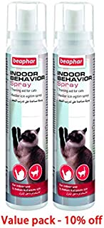 Keep off for cats repel cats from unwanted area Beaphar INDOOR BEHAVIOR SPRAY FOR CAT 125 ML Value pack of 2 pcs