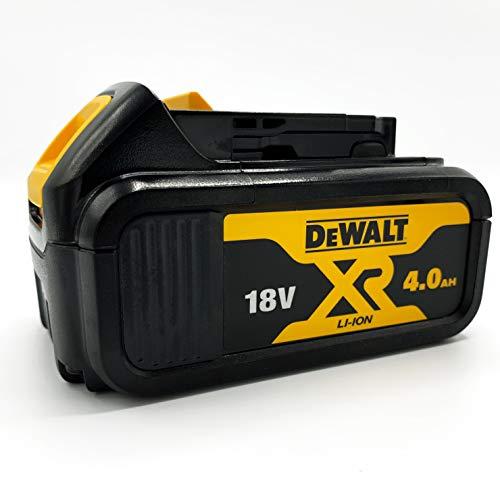 Oferta de Dewalt DCB182-XJ Batería carril XR 18V Li-Ion 4, Negro y amarillo
