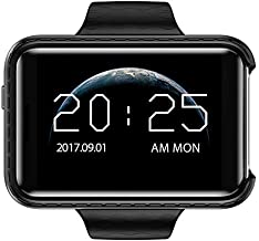 Bond I5S Smart Mobile Watch MP3 Player Sleep Monitor Pedometer Camera GSM SIM Mini Phone Smartwatch for iOS Android (Silver)