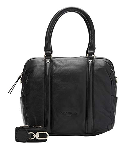 Liebeskind Berlin Handtasche, Oak Bowling Bag, Medium, black