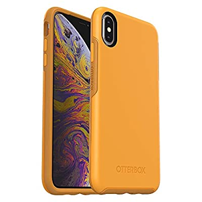 OtterBox SYMMETRY SERIES Case for iPhone Xs Max - Retail Packaging - ASPEN GLEAM (CITRUS/SUNFLOWER)
