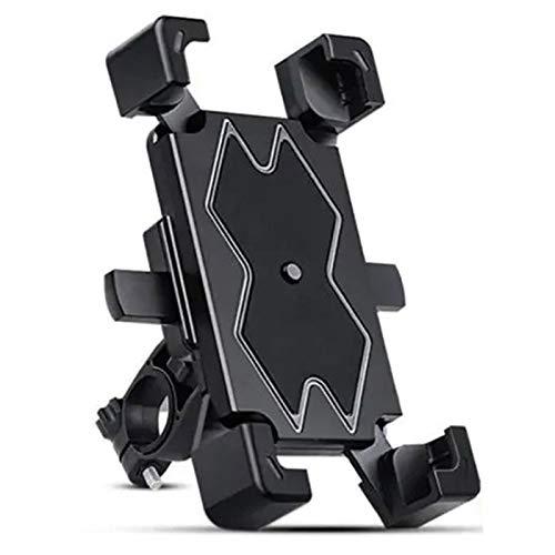 LEERAIN Soporte de teléfono para bicicleta de montaña, soporte de teléfono móvil, soporte de GPS para manillar y espejo retrovisor