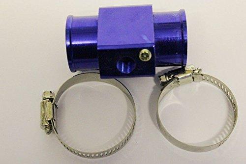 Generic qy-uk4–16 feb-20–144 * * * * * * * * 1 * * * * * * * * * * * * * * * * 2144 * * * * * * * * * * * * * * * * 38 mm eau Capteur de température ou Adaptateur de tuyau flexible pour radiateur radiato R 38 mm cannelé bleu ER Bleu en alliage Tuyau connecteur ECTOR cannelé bleu