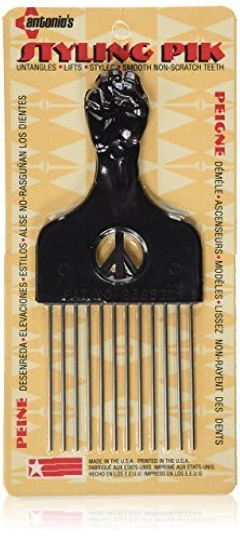 地下室兄弟愛誇りに思うLegends Creek Antonios Made In America Metal Hair Styling Pik for Volume & Tangles [並行輸入品]