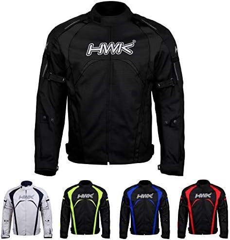 Motorcycle Jacket Men s Riding HWK Textile Racing Motorbike Hi Vis Biker CE Armored Waterproof product image