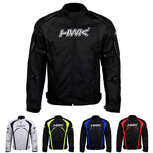 Black, L Adventure//Touring Motorcycle Jacket For Men Textile Motorbike CE Armored Waterproof Jackets ADV 4-Season