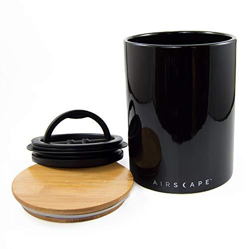 AirScape Vakuumbehälter Keramik 500 gr. (schwarz/Black)