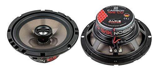 Audio System Carbon 165 CO 2-Wege 16,5cm Koax Lautsprecher Speaker - 1 Paar - NEU