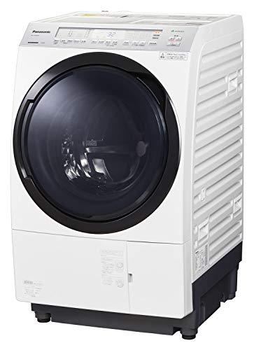 パナソニック ななめドラム洗濯乾燥機 11kg 左開き 液体洗剤・柔軟剤 自動投入 クリスタルホワイト NA-VX80...