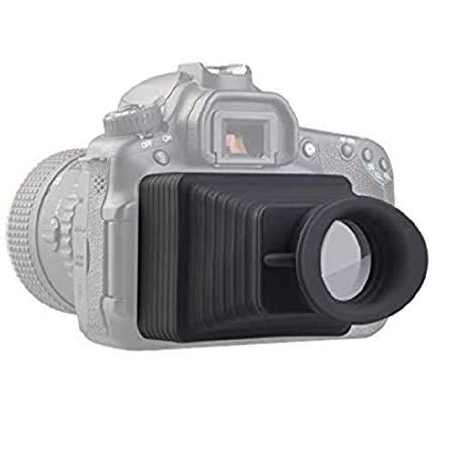 LENSGO Camera Viewfinder, Professional 3.2'' LCD Magnifier Viewfinder 3.2X Camera Screen Sunshade Hood for Canon Sony Nikon Olympus Panasonic and More DSLR/SLR Camera