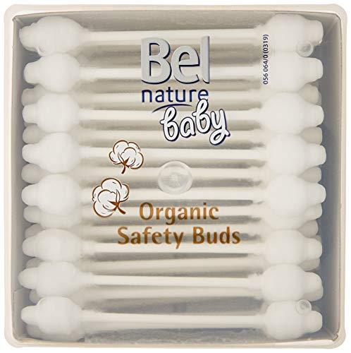 Bel Nature Baby Bastoncillos Seguridad 56, 100% Algodón
