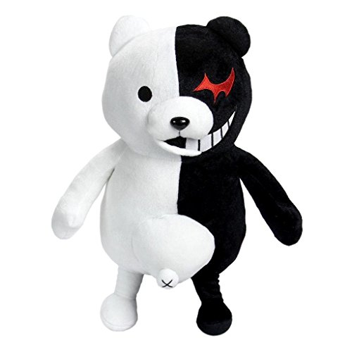 Plush Doll Toy Anime 25cm Dangan Ronpa Super Danganronpa 2 Mono Kuma Black&White Bear