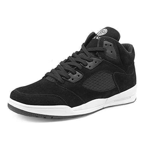 Bacca Bucci Men SNEAKSTER Korean Style High-Top Platform Fashion Sneaker/Casual Shoes