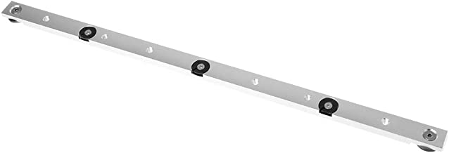 ZOOMY 450mm Aleación de Aluminio Carril Barra de inglete Barra Deslizante Mesa Sierra Herramienta de carpintería Varilla