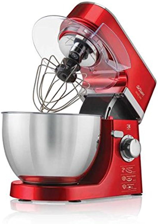 ventas directas de fábrica Arzum Crust Mix Robot de cocina batidora 4,5litros Acero Acero Acero inoxidable, 700W amasadora de masa Batidor Rojo rojo  Compra calidad 100% autentica