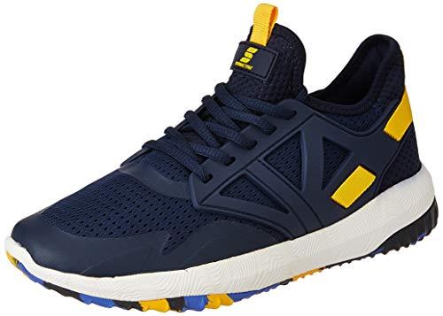 Amazon Brand - Symactive Men's Navy Running Shoes-8 UK (SYM-YS-011C)