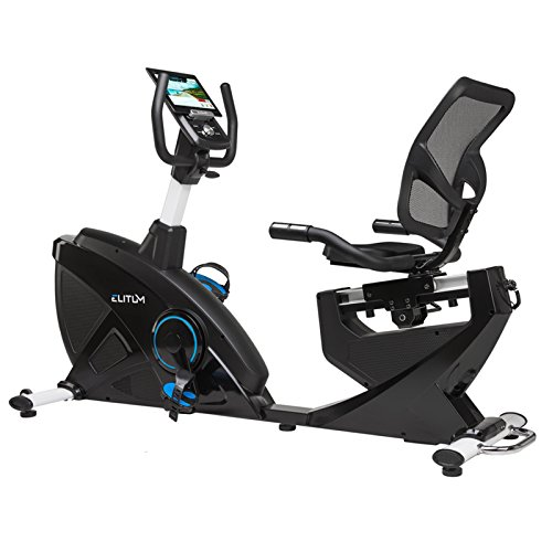 Liegeheimtrainer LX900 Ergometer Sitz Heimtrainer Fitnessbike Smartphone Steuerung Schwungmasse 18 kg