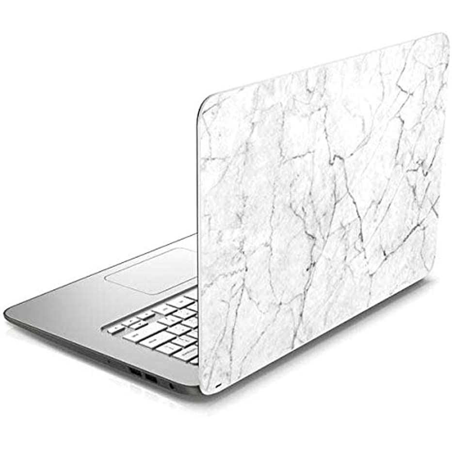 Skinit White Marble Chromebook 14-x010nr Skin - Officially Licensed Originally Designed Laptop Decal - Ultra Thin, Lightweight Vinyl Decal Protection enszwhnom94