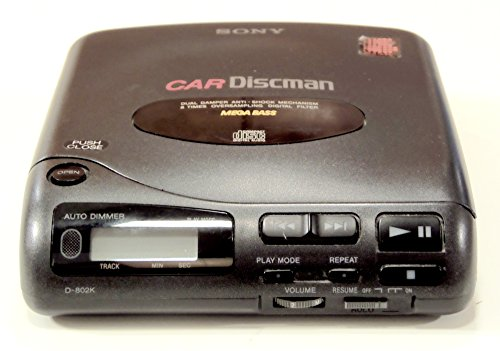 Sony D-802K Car Discman Portable CD Player