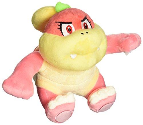 Little Buddy USA Super Mario All Star Collection Bun Bun/Pom Pom Stuffed Plush, Pink, 6.5'