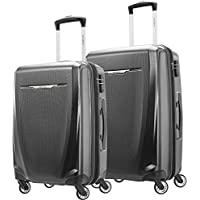 2-Piece Samsonite Winfield 3 DLX Hardside Expandable Luggage Set With Spinners (Graphite Grey)