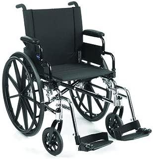 Standard Lightweight Wheelchair Seat Size: 18