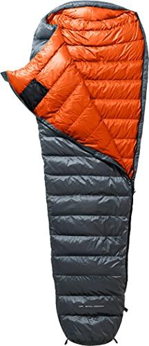 Y by Nordisk Phantom 440 Schlafsack XL Smoked Pearl/orange 2021 Quechua Schlafsack