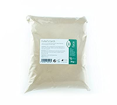 Fullers Earth Fine Powder 2kg - Pure & Natural Calcium Bentonite