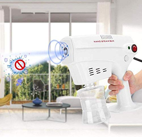 YUMUO Multifunctional Atomizing Sprays Portable Electric ULV Nano Steam Gun, for Garden Home Hotel Indoor Outdoor, 260ML