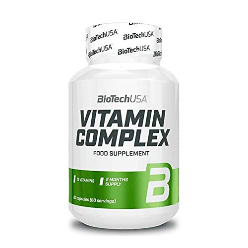 BioTechUSA Vitamin Complex, 60 Caps, 95 g