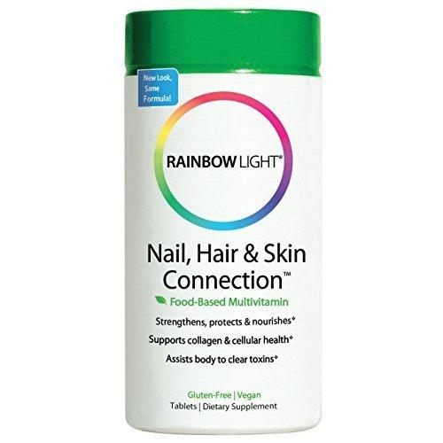 Rainbow Light, Herbal Prescriptives, Nail, Hair & Skin Connection, Replenish & Balance, 60 Tablets by Rainbow Light