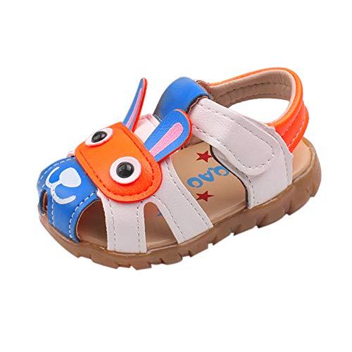 Sandalias para Bebe niñas niños Primeros Pasos Verano Zapatos de Dibujos Animados Sandalias con Luces Intermitentes Linda Sandalias de Playa Sandalias Deportivas Transpirables