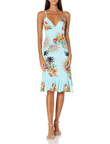 Desigual Damen Vest_Mississipi Kleid, Blau (Horizon Blue 5132), Large (Herstellergröße:L)