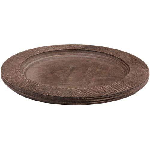 Lodge - beschermtafel voor gietijzeren pan, hout, bruin, diameter: 20 cm