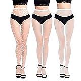 12 colores caramelo transparente ahueca hacia fuera Medias medias de malla sexy para mujer malla elástica negro medias club fiesta medias medias medias medias