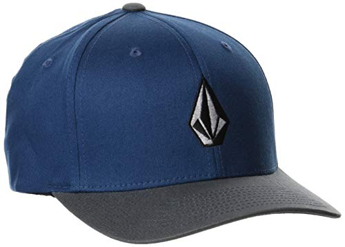 Volcom Full Stone Xfit Gorra de béisbol, Azul Marino, S/M para Hombre