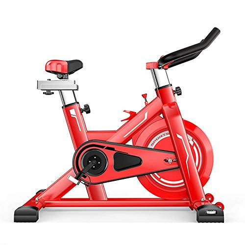 ZCYXQR Bicicletas de Ejercicio Bicicleta de Ejercicio giratoria silenciosa Equipo de Fitness para Interiores en el hogar para Bicicletas de Estudio en Interiores (Deporte en Interiores)