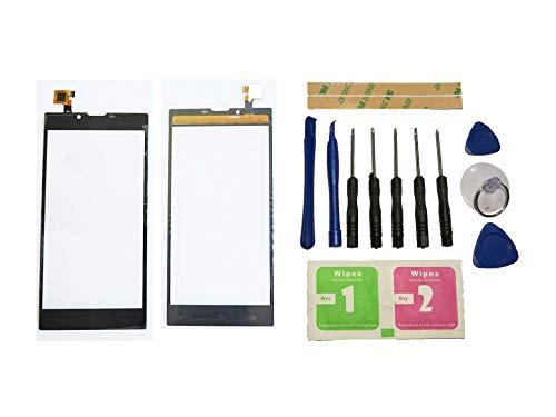 Flügel für Archos 55 Platinum Touchscreen Display Digitizer Glas Schwarz Bildschirm Frontglas (Ohne LCD) Ersatzteile & Werkzeuge & Kleber