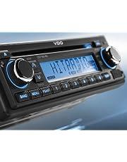 VDO CD726UB-BU - Radio para camión o autobús (24 V, 24 V, RDS, Bluetooth, CD, AUX-IN, USB, MP3, radio FM, sintonizador de radio digital Continental)