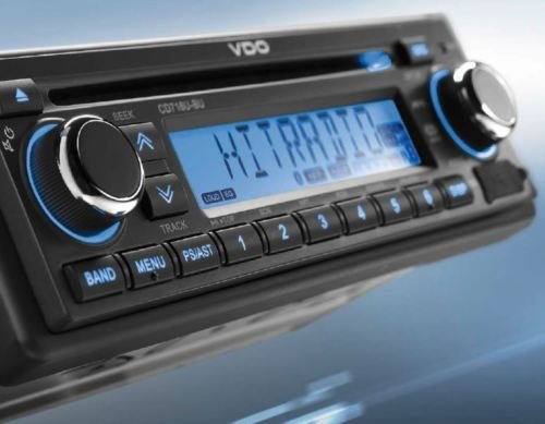 VDO CD726UB-BU 24V 24V Camion Bus Radio avec RDS Bluetooth CD AUX-IN USB MP3 Radio FM numérique Tuner Continental