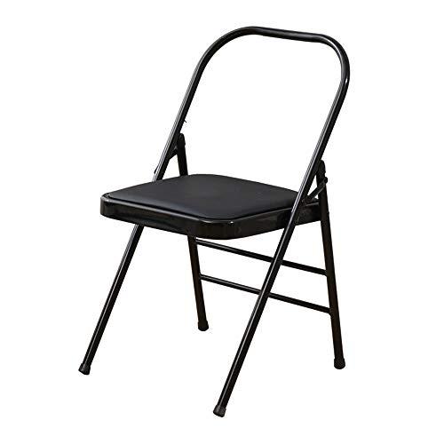 Tlyd Dicke Iyengar Yoga Stuhl Bold Assisted Inverted Stuhl Startseite Pilates Faltbarer Stuhl Hocker Geeignet Für Professionelles Yoga Gebrauch Für Blut-Zirkulation/Fördert Den Schlaf