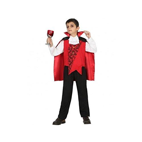Atosa-18176 Disfraz Vampiro, Color Rojo, 10 a 12 años (18176)