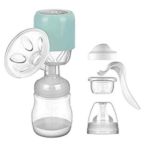 KOUQI Tiralatte Elettrico Portatile Singola Pompa Allattamento al Seno Il Latte Materno Silicone Ciuccio, USB Ricaricabile BPA-Free Super-Quiet con Touch Screen