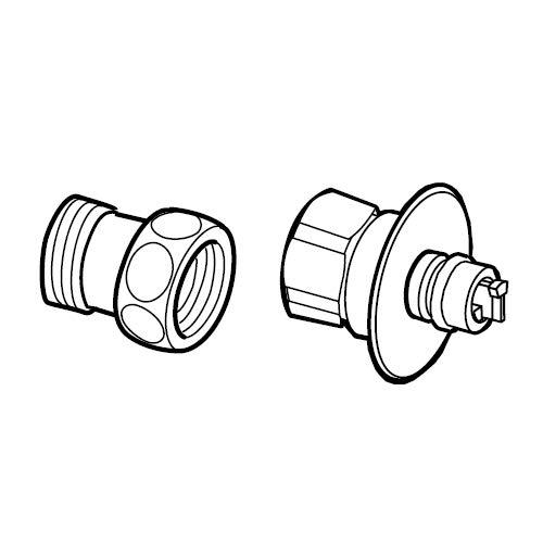 ナニワ製作所 食器洗い乾燥機専用部材 AuAD (NS・NSJタイプの水栓分岐用)