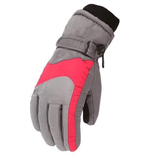 Kinder Skihandschuhe Warme Handschuhe wasserdichte Winddichte rutschfest für 5-8 Jahre Jungen Mädchen Winterhandschuhe Kinderhandschuhe Sport Snowboard Ski Warme Fäustlinge