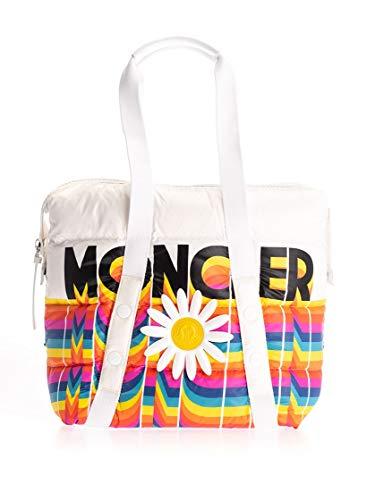 Moncler Luxury Fashion Donna 0060900539SO090 Bianco Nylon Borsa Shopping | Autunno-inverno 19