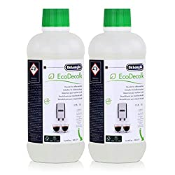 Original DeLonghi decalcifier for an espresso and coffee machines. Decalcify fully automatic coffee machines with the original Delonghi Descaler EcoDecalk, more environmentally friendly descaler. EcoDecalk is the new environmentally friendly descaler...