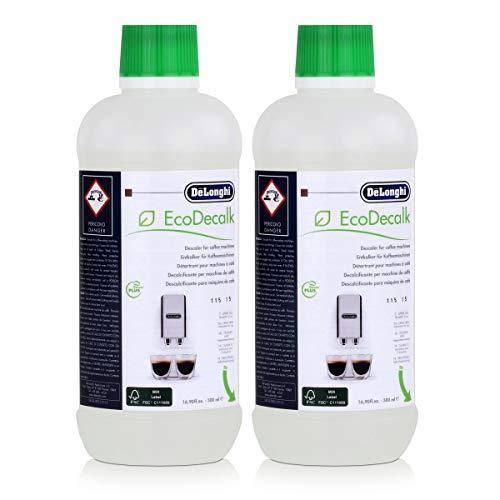 De\'Longhi SER 3018 - Decalcificante liquido per macchina da caffè, 2 x 500 ml