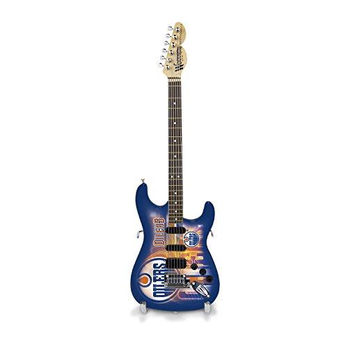 Woodrow Guitar by The Sports Vault NHL Mini Collectible Gitarre, 25,4cm x 3–1/4-Zoll, blau