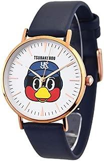 つば九郎 つばにぃ~ オリジナルウォッチ 腕時計 ユニセックス 東京ヤクルトスワローズ プレゼント ギフト (ネイビー)